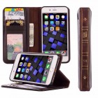 iPhone Book Casing Unique Classy Book-Like Look with Slot for Cards iPhone 7 or 7Plus