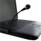Mini 3.5mm Flexible MIC Microphone For Laptop PC Internet Conference Set