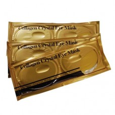 5 Pieces Collagen Gold Full Eye Mask For Sparkling Eyes From Top to Bottom