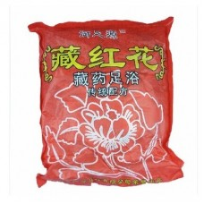 Red Flower Powder for Foot Soak Bath Spa improves blood circulation relax and promote good sleep 100 Sachets