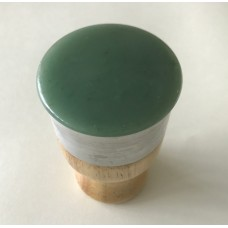 Fu Yang Guan 扶阳罐 Electronic Moxa Heater Self Massage Green Jade Base Detoxification Gua Sha Device