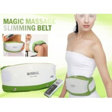 Vibrating Slimming Massage Belt with Dual Motor and Heating Model